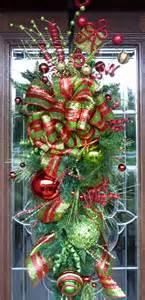 whimsical swag christmas wreath