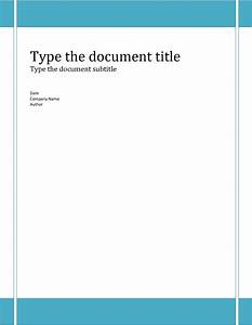 6 report cover template bookletemplateorg With free cover page templates