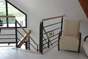 Garde Corp Escalier : escaliers design et contemporains bois et acier ou inox ~ Dallasstarsshop.com Idées de Décoration