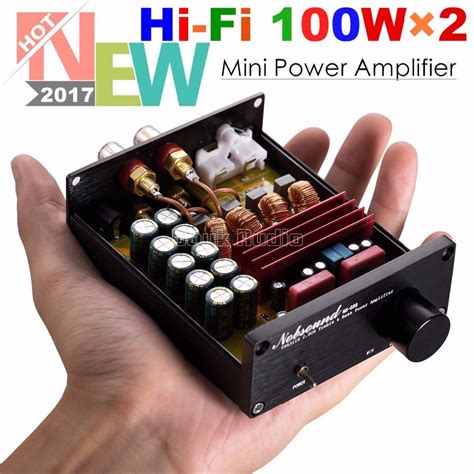 hifi receiver test 2018 2018 nobsound mini digital audio power lifier hifi tpa3116 stereo 2 channel 100w