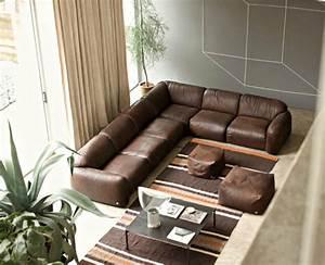 Braunes Sofa Welche Wandfarbe : wohnzimmer braun 60 m glichkeiten wie sie ein braunes ~ Watch28wear.com Haus und Dekorationen