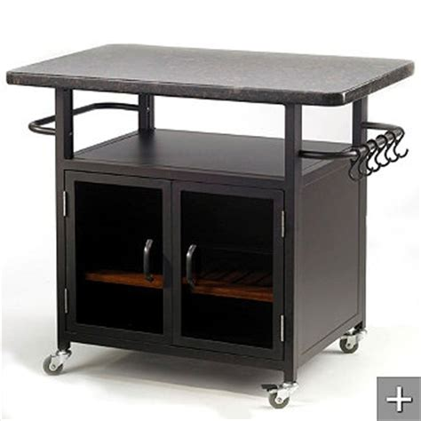 rolling grill cart outdoor kitchen bar