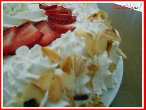 recette de fraisier avec chantilly au mascarpone