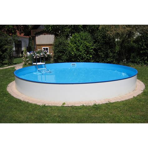 günstige pools zum eingraben stahlwand pool set bologna einbau und aufstellbecken 216 200 cm x 120 cm kaufen bei obi