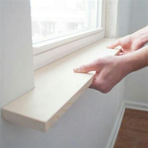 Diy Window Sill window sill widening and trim diy trim it