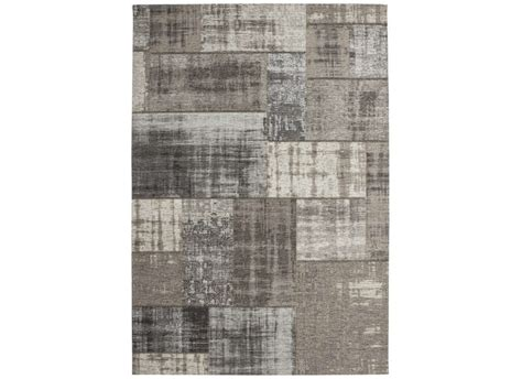 grand coussin pour canapé grand tapis design patchwork gris clair