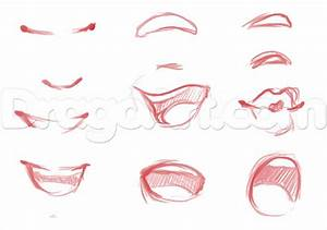 Step For Beginners Faces How To Draw Anime Girl Noses Step ...