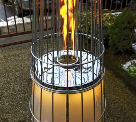 the most common types of outdoor patio heaters in terms of