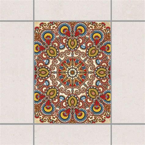 Badezimmer Fliesen Sticker by Fliesenaufkleber Farbiges Mandala 20x15 Cm