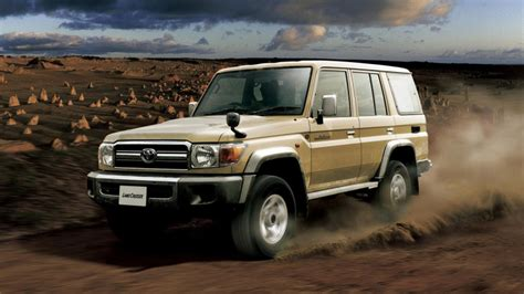 Toyota Land Cruiser 70 Series Re-release Photo Gallery