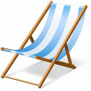 Beach chair Icon | Vacation Iconset | VisualPharm