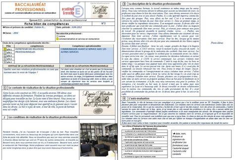 salaire bac pro cuisine fiche bilan de competences bac pro cuisine ohhkitchen com