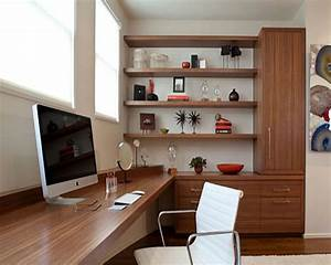 Interesting, Home, Office, Decorating, Ideas, For, Effective, Workspace