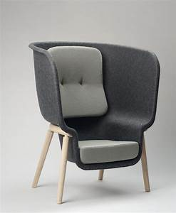 Pod Privacy Chair by Benjamin Hubert