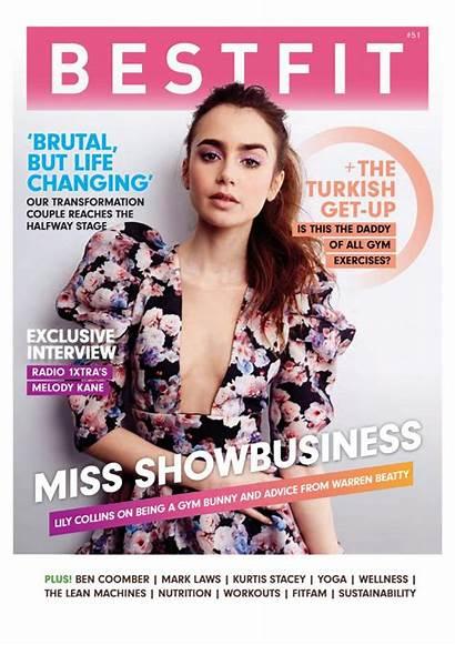 Collins Magazine Lily Bestfit Hawtcelebs Celebzz Cageyceleb