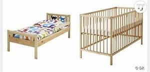 Lit Pour Enfant Ikea : lit de bebe ikea ~ Teatrodelosmanantiales.com Idées de Décoration