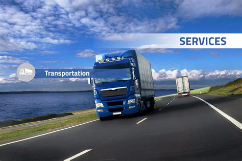 Transportation Service by Transportation Services Blue Logistics Blue