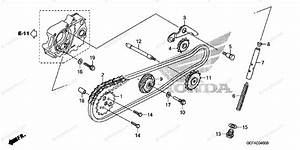 Honda Motorcycle 2005 Oem Parts Diagram For Cam Chain