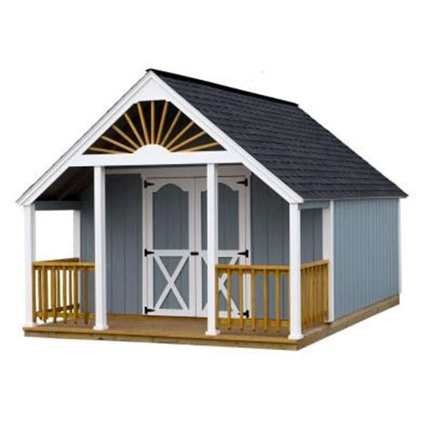 best barns garden shed 12 ft x 16 ft wood storage shed