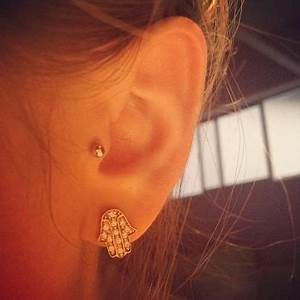 tragus piercing | Tumblr | Piercings/Jewelry | Pinterest ...