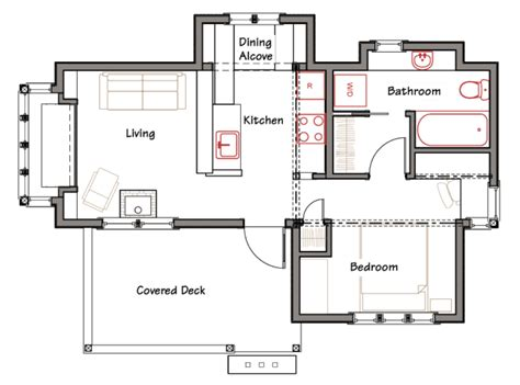 simple cabin floor plans simple house plans to build simple modern house plan