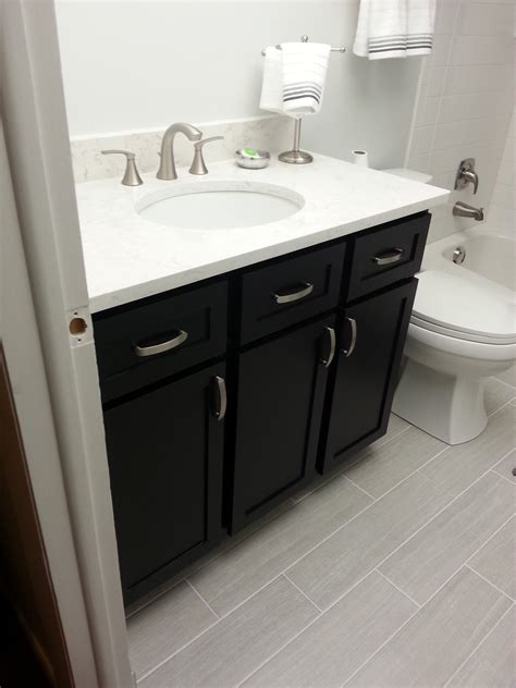 guest bathroom vanity white guest bath remodel diy projects