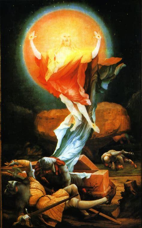 isenheimer altar christi auferstehung von den toten als