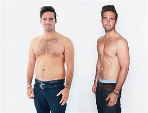 Spencer Matthews before and after bootcamp shots