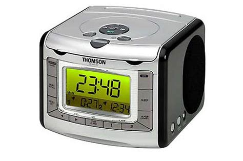 radio r 233 veil thomson rr 520 cd argent 1846604 darty
