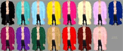 male acc long fur jacket fix  marigold sims  updates