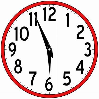 Clock Analog Schedule Svg Katie Class Domain