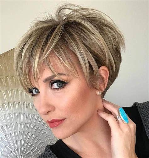 Pixie Hairstyles for Older Women 2020 Short Hair Models