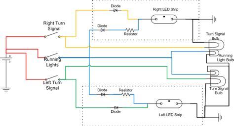 wiring led to turn signal oznium