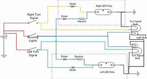 Led Turn Signal Circuit Diagram