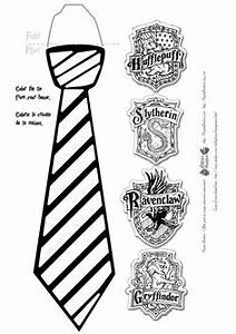 harry potter tie template - harry potter glasses and ties with free printable
