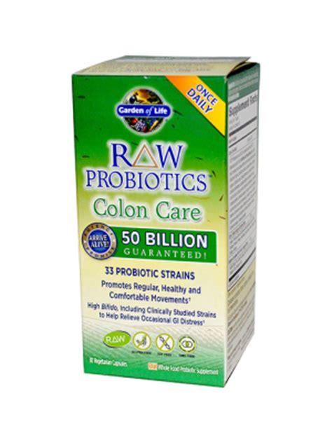 garden of colon care probiotics probiotic supplements for children