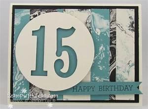 Easy Teenage Boy Birthday Card | Stamp with Jenn