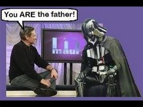 You Are The Father Meme - darth vader you are the father youtube
