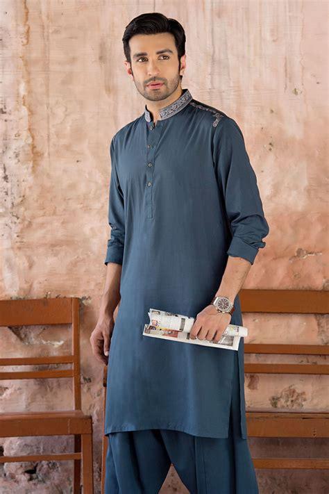 latest bonanza men eid kurta shalwar kameez collection