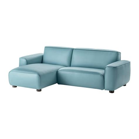 Leather Loveseat With Chaise by Dagarn Loveseat With Chaise Kimstad Turquoise Ikea