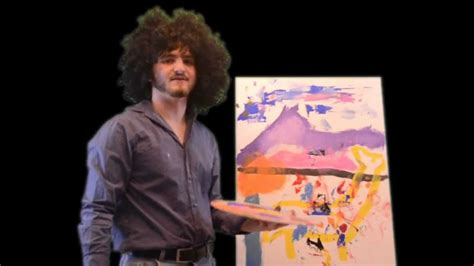 The Joy Of Painting With Dalton Ross (bob Ross Parody