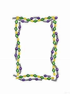 Mardi Gras Beads Clipart - Clipart Suggest