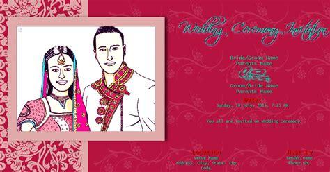 Free Indian  Ee  Wedding Ee    Ee  Invitation Ee    Ee  Email Ee   Template Templates Data