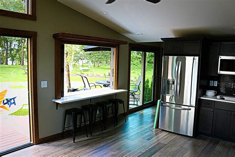 Tiny Home Bar by The Valley Forge Park Model Tiny Home Cabin For Sale