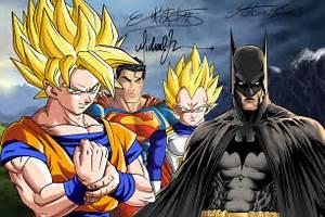 Goku, Batman, Vegeta, Superman by SWAVE18 on DeviantArt