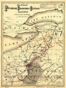Buffalo and Pittsburgh Railroad Map
