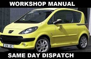 Peugeot 1007 Workshop Manual