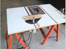 My Table Saw From a Circular Saw Redone 11 Steps with