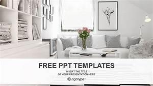 Interior Design Living Room PowerPoint Templates