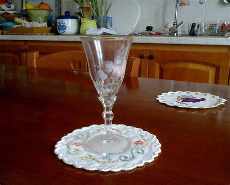 Sotto Bicchieri by Sotto Bicchieri Ricamati Per La Casa E Per Te Cucina